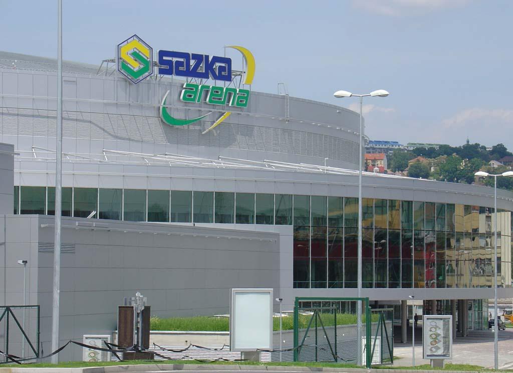 Stavební práce Sazka arena